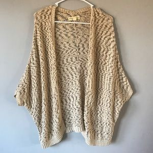 Staring at Stars texture cardigan open sweater S